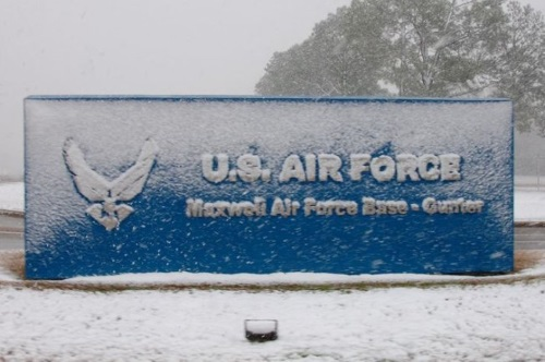 maxwell afb entrance