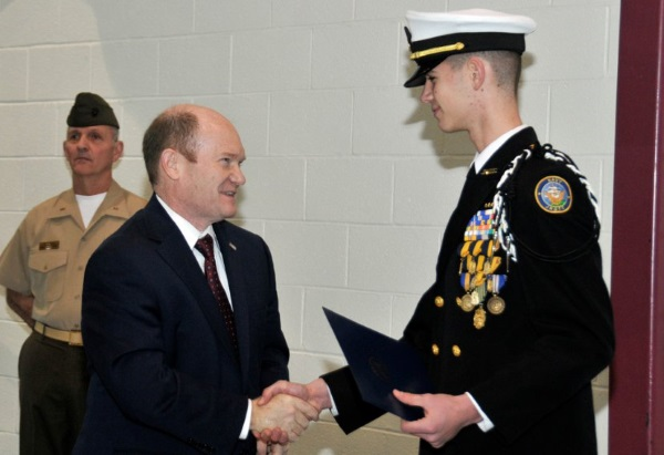 meeting with a senator for a us naval academy nomination