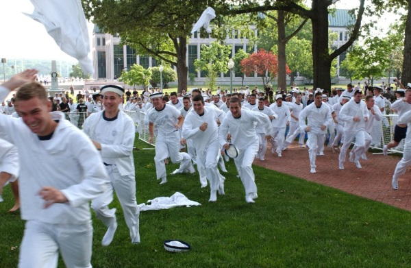 what its like to be a plebe at the US Naval Academy