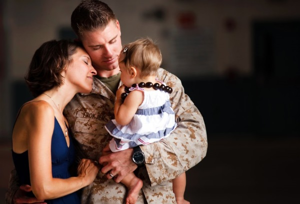 being a military wife can be challenging