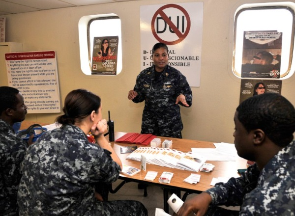 can you join the navy with a dui