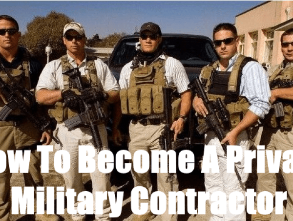 how to become a private military contractor