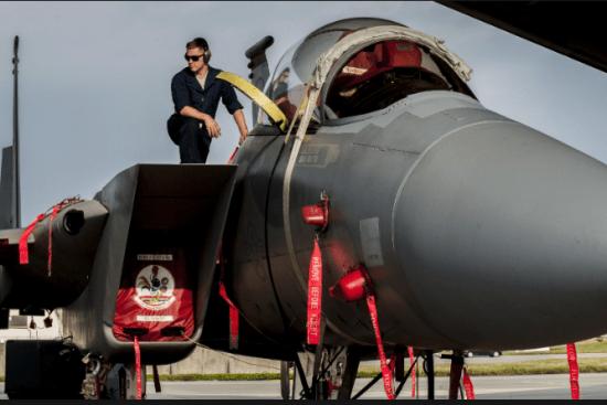 an Fighter Aircraft Integrated Avionics at work
