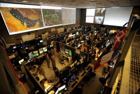 an Command and Control Operations at work