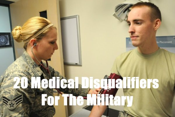 Disqualify You From The Military