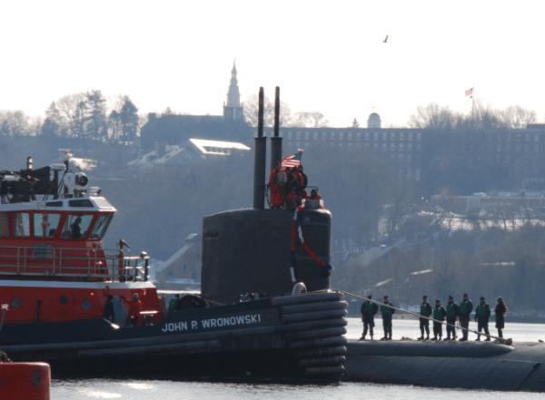 Naval submarine base New London