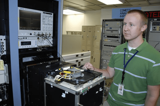 an Integrated Family of Test Equipment Operator at work