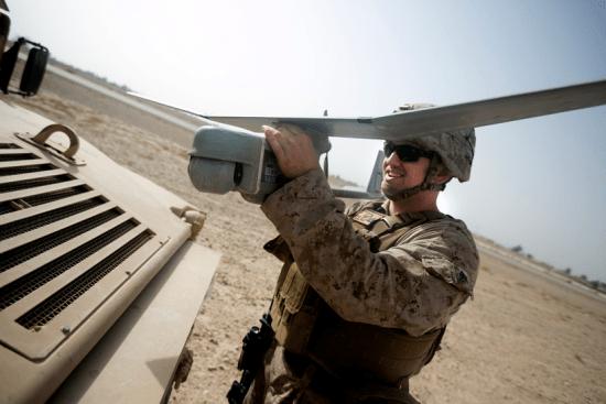 an Ground Surveillance Systems Operator at work