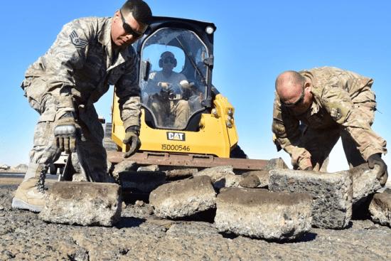 an Construction Equipment Repair at work