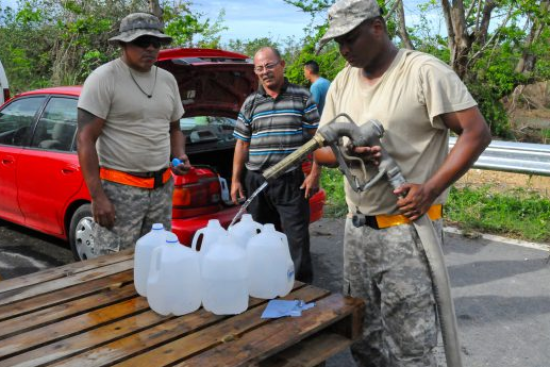 an Water Treatment Specialist at work
