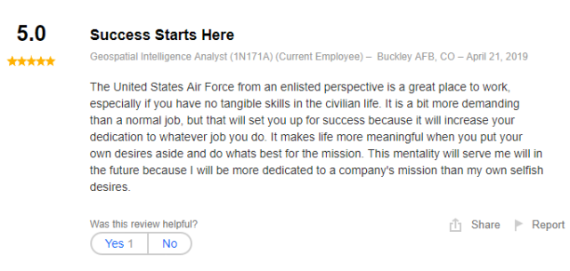 geospatial intelligence analyst job review