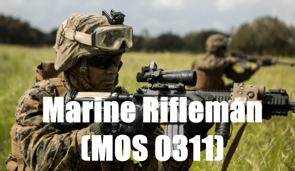 marine corps rifleman mos 0311
