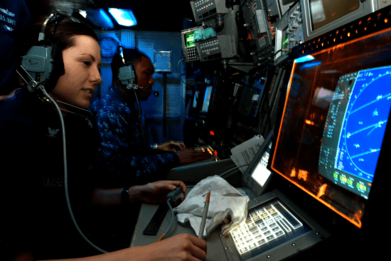 an Cryptologic Technician - Technical at work