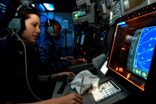 an Cryptologic Technician - Technical at work