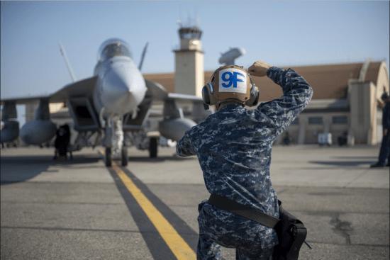 an Airman at work