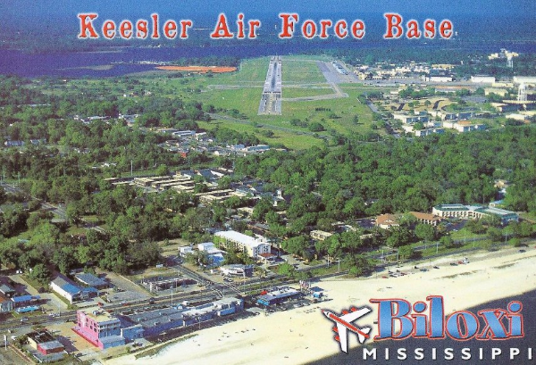 Air Force ATC training is conducted at Keesler Air Force Base
