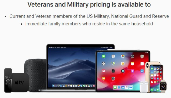 apple military and veteran pricing