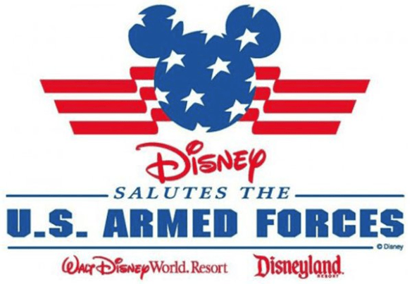 disney armed forces salute