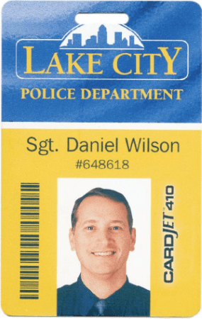 police officer id card