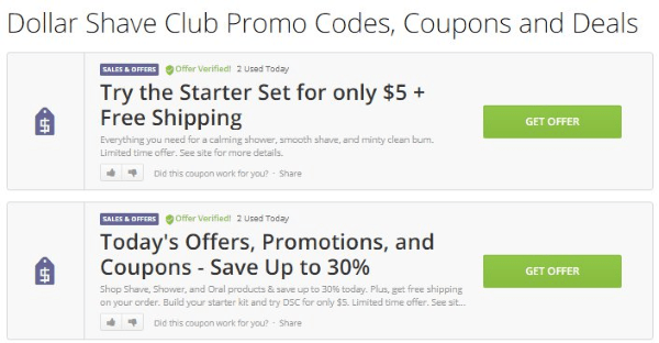 slickdeals dollar shave club discounts and coupons