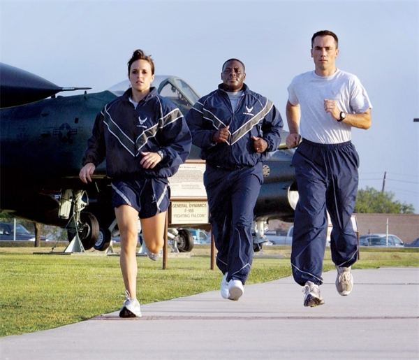 Air Force PT Test Standards: Male + Female Requirements