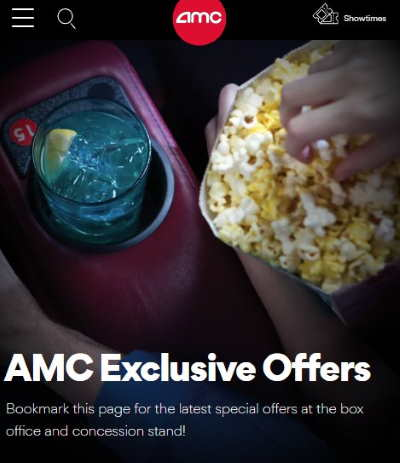 amc exclusive offers and discounts