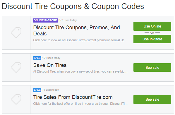 discount tire groupon offers