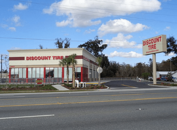 discount tire military discount