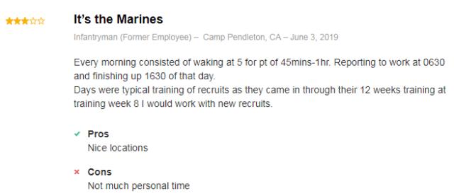 marine infantryman review