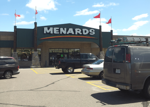 menards military discount