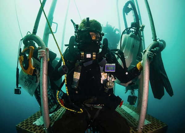navy diver - ND rating