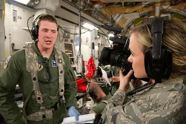 Military Broadcast Journalist