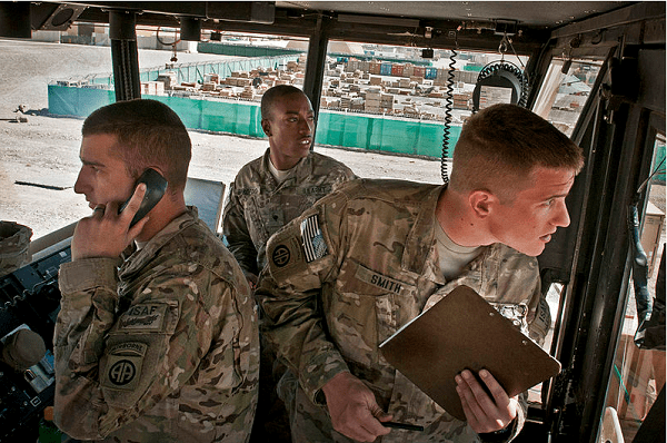 Army Air Traffic Control Operator