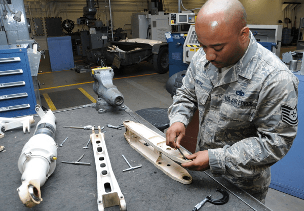 Metals Technology Specialist Air Force