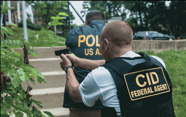 Army Criminal Investigation Special Agent (MOS 31D)