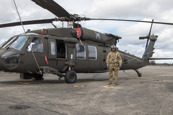 Army UH-60 Helicopter Repairer