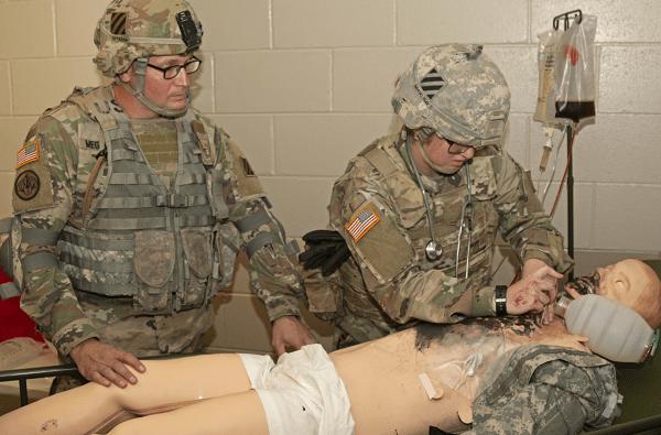 Combat Medic (MOS 68W)