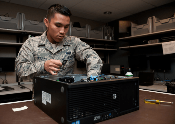 air force client systems technician - 3d1x1