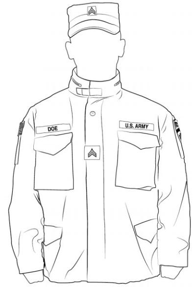 army uniform regulations