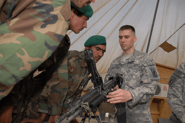 Army Small Arms-Artillery Repairer