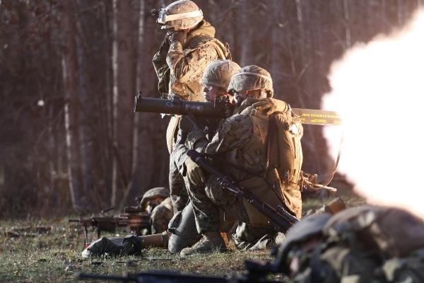 Marine Corps Infantry Assault - MOS 0351