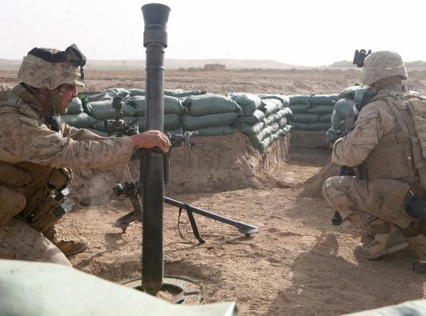 Marine Corps Mortarman - MOS 0341