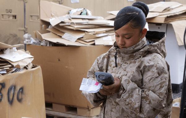 Marine Corps Warehouse Clerk