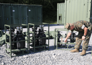 Marine Corps Water Support Technician MOS 1171