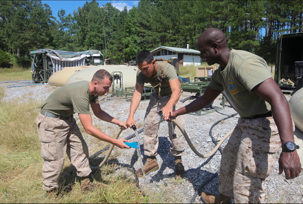 Marine Corps Water Support Technician