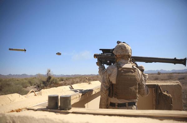 Marine LAAD Gunner