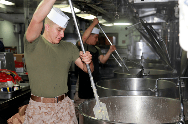 Marines Food Service Specialist