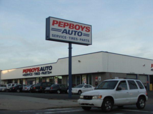 Pep Boys Shop