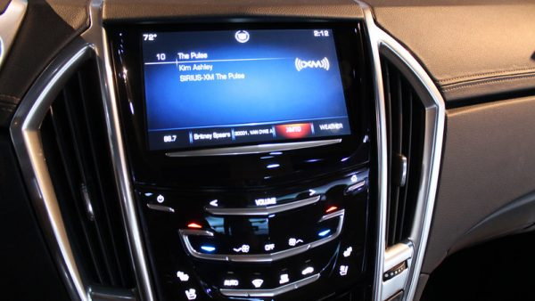 SiriusXm Playing in Car