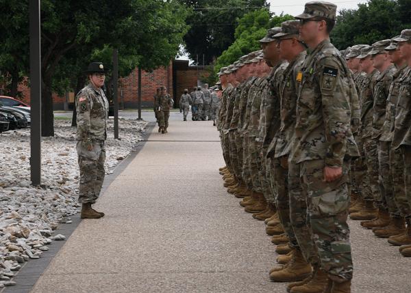 army platoon
